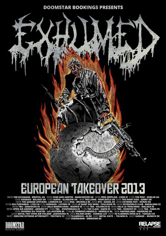 Exhumed Album Details Trailer Revealed Band Announces