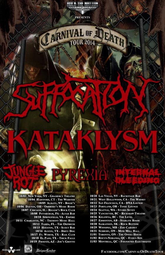 Kataklysm Tour Seattle