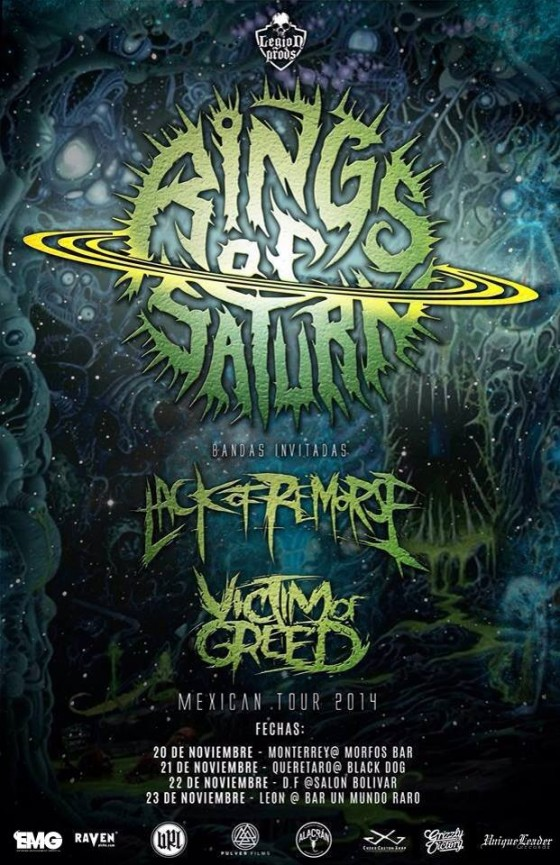 Rings Of Saturn Technical Death Metallers To Release