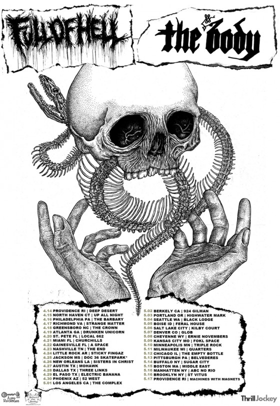 The Body Begins North American Live Assault With Full Of