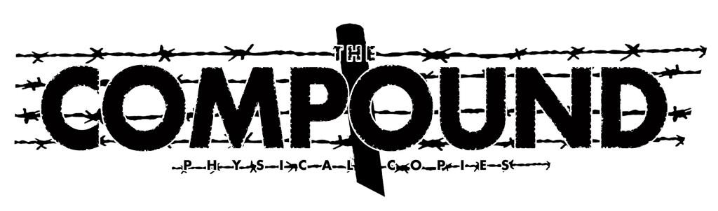THE COMPOUND logo whiteback