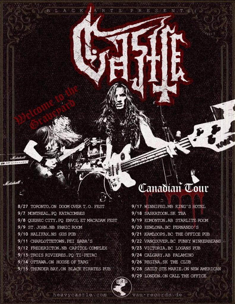 Graveyard Canadian Tour Dates