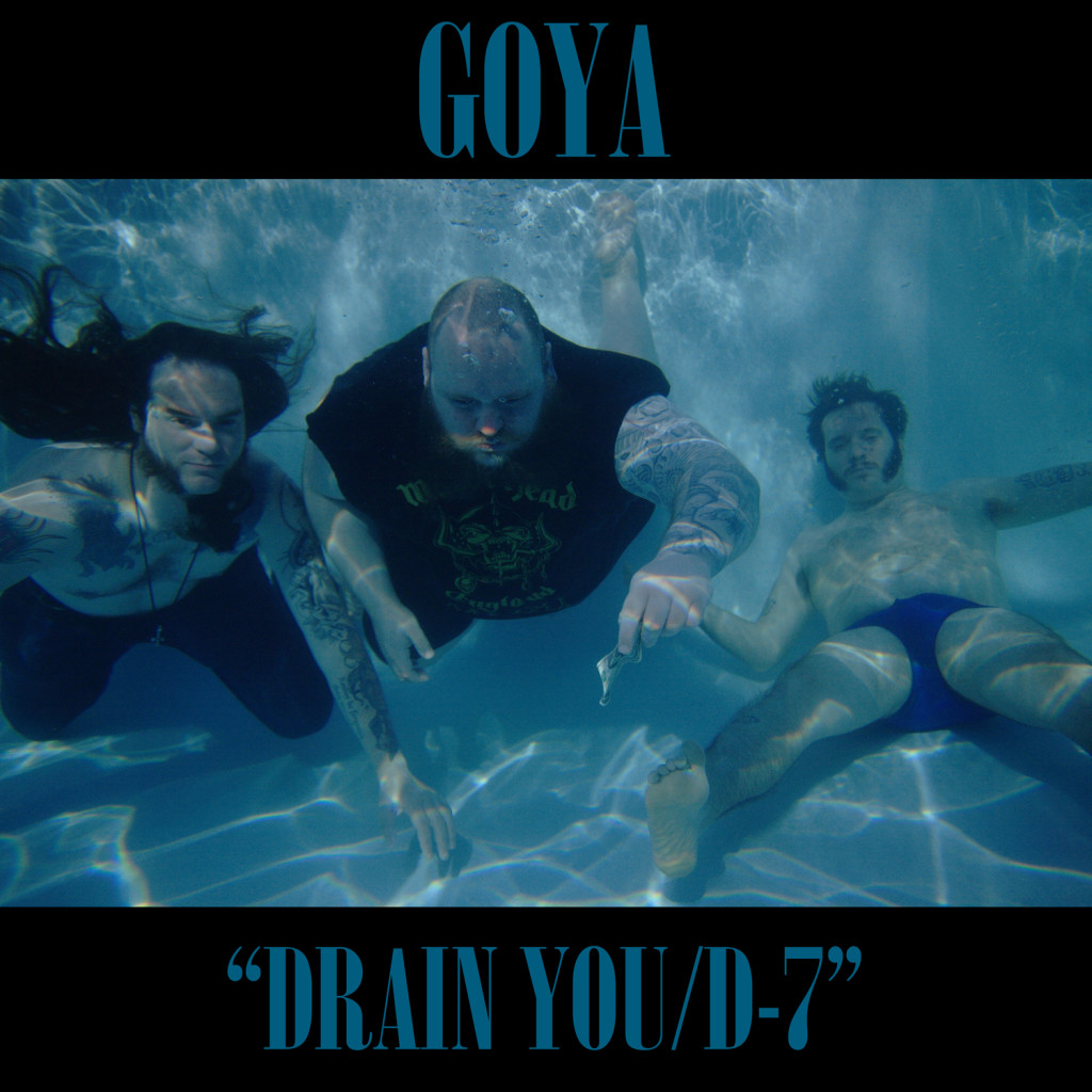 GOYA: Arizona-Based Stoner Doom Trio To Release Limited Edition, Two-Song Nirvana Tribute; Band To Play Psycho Las Vegas This Weekend