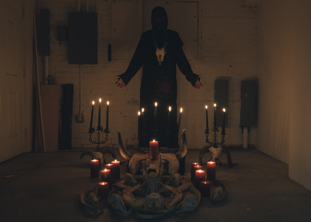 """THE BLACK SCORPIO UNDERGROUND: Black Death Industrial Miscreants Undrape """"She Who Cannot Be Saved"""" Video At No Clean Singing; Necrochasm Full-Length To See Release This Friday"""
