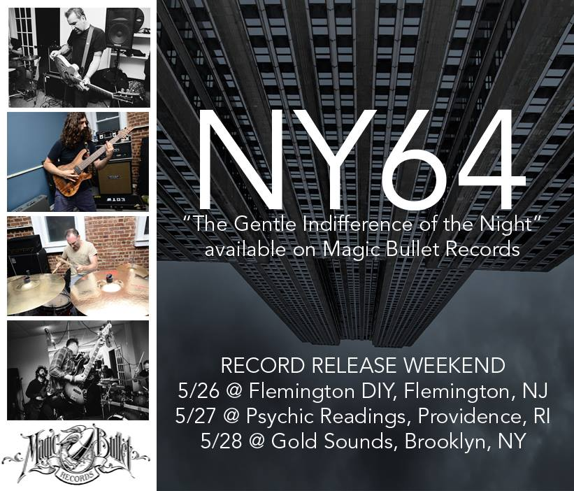 NY64 Record Release Flyer