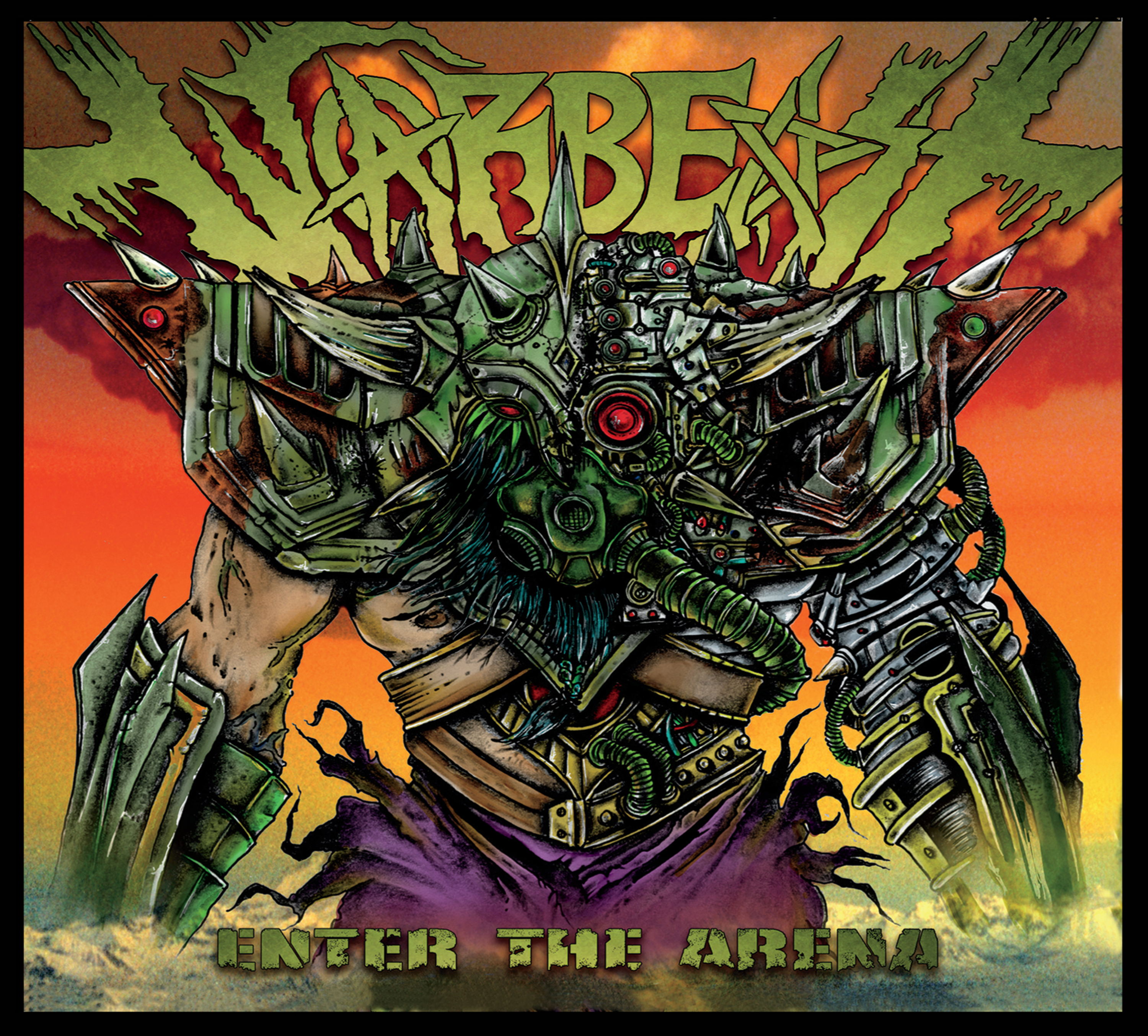 Warbeast - enter the arena cover