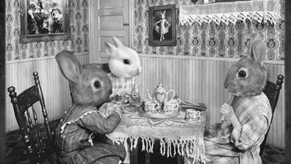 Creepy Vintage Animal Masks (6)