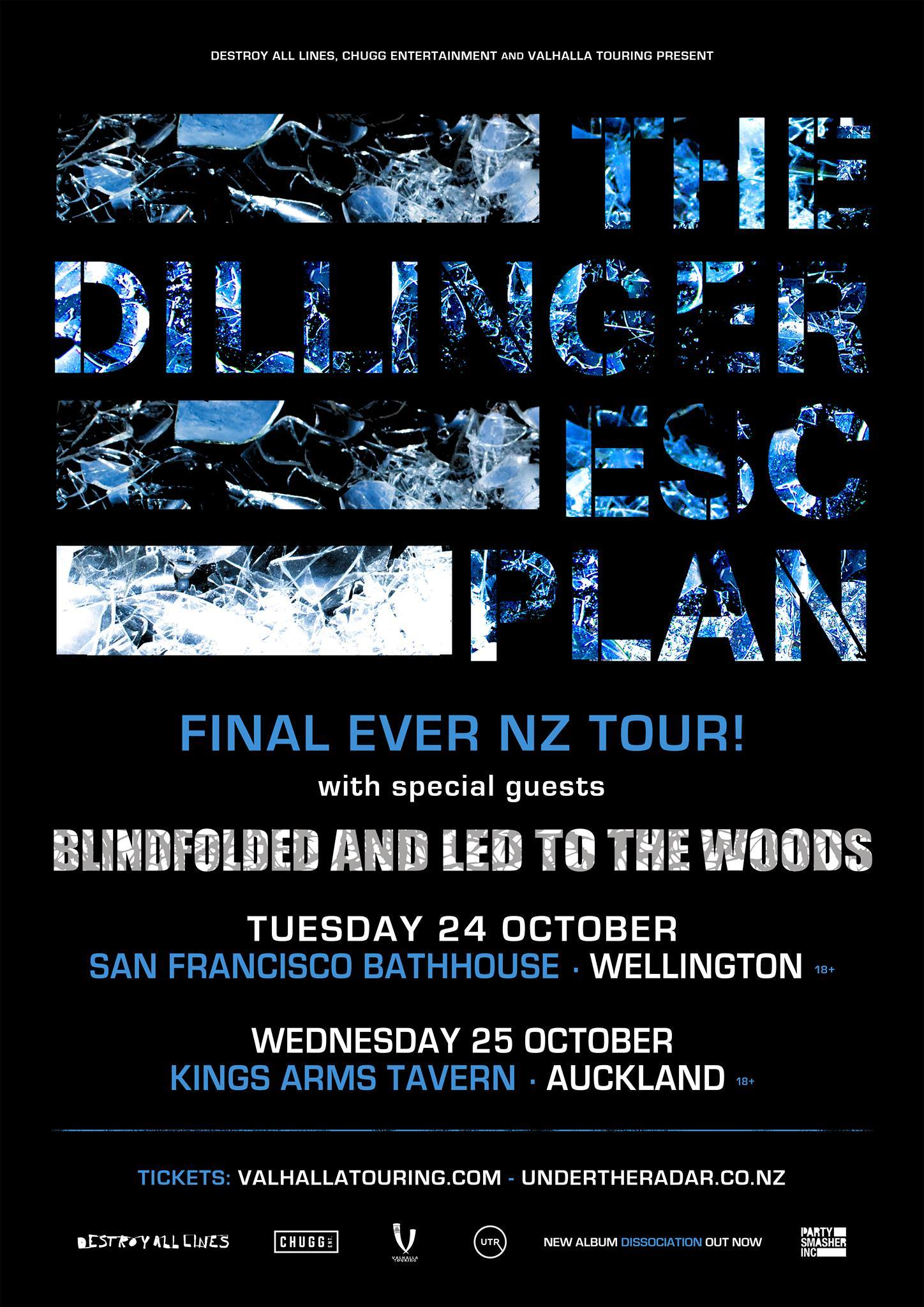 Dillinger Escape Plan - Blindfolded And Led To The Woods