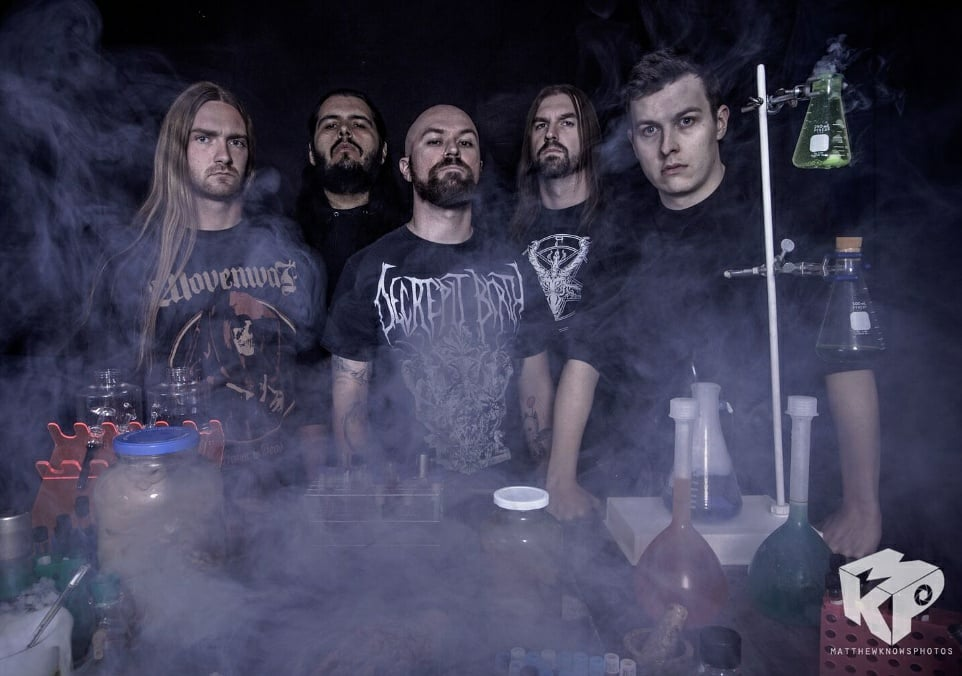 ALLEGAEON Set To Join Rings Of Saturn For US Tour This March
