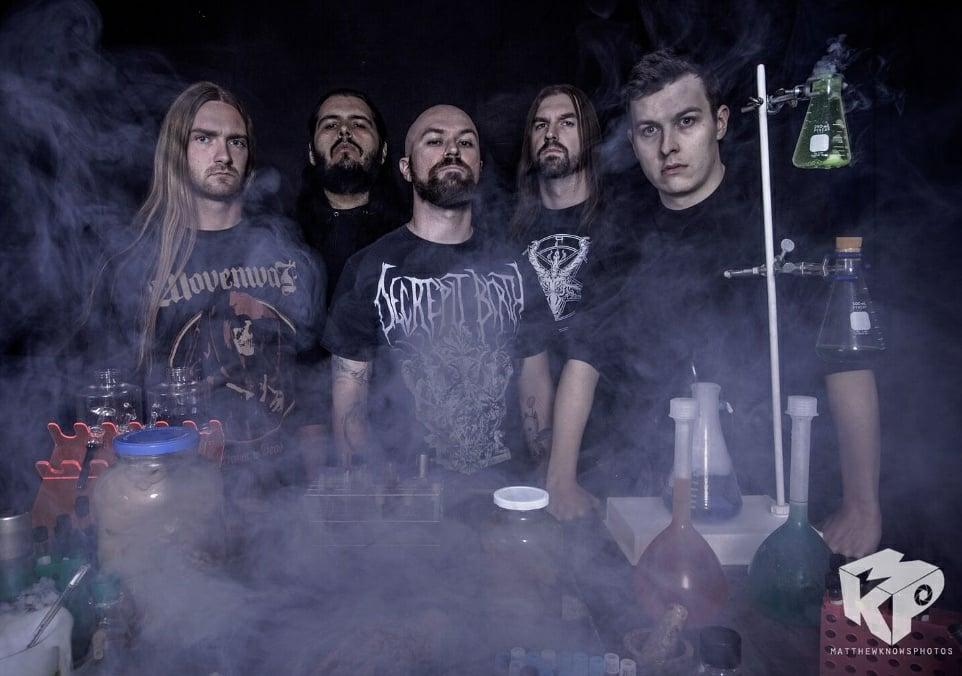 ALLEGAEON: Colorado Death Metal Architects Prepare For Summer Slaughter 2018 Next Month