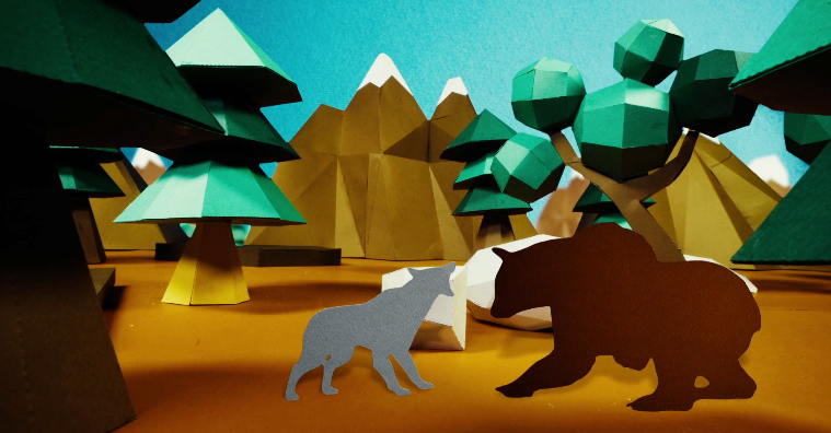 MIDAS FALL: Ambient Post-Rock Duo Premieres 3D Animated Video For