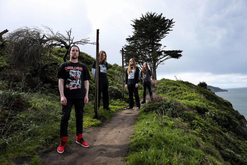 MORTUOUS: Revolver Premieres Through Wilderness Debut From San Jose Brutal Death/Doom Unit; Album Drops Friday Via Tankcrimes/Carbonized