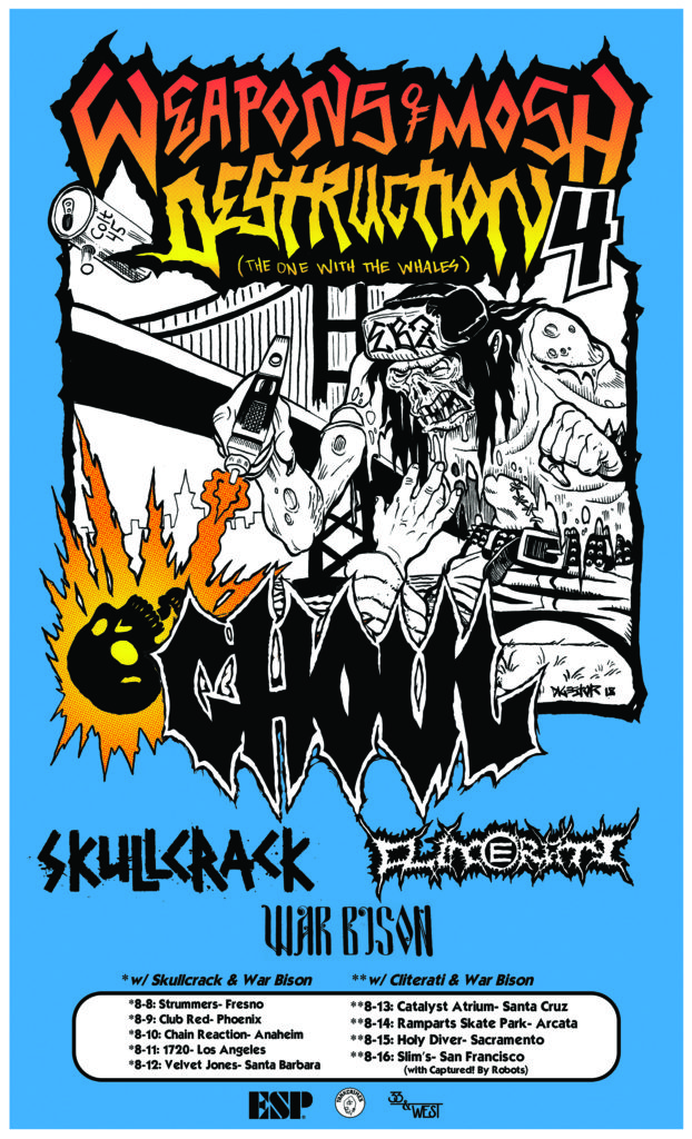 GHOUL: The Masked Hooligans Of Creepsylvania To Kick Off Weapons Of