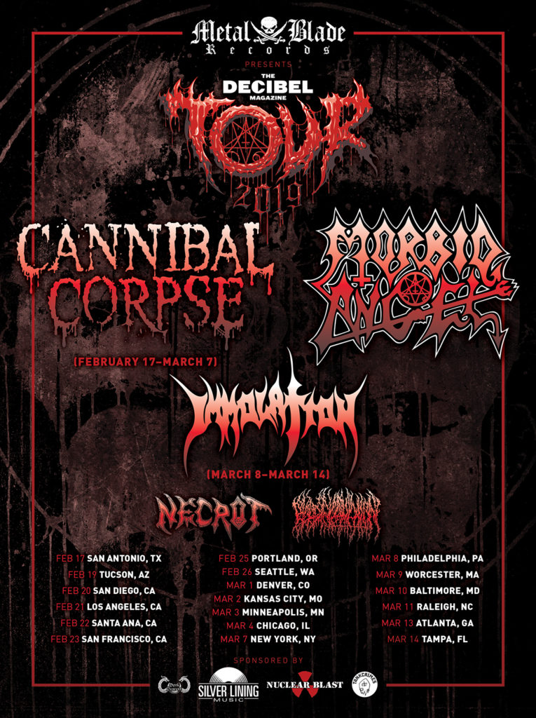 CANNIBAL CORPSE: Decibel Magazine Announces Special Limited-Edition