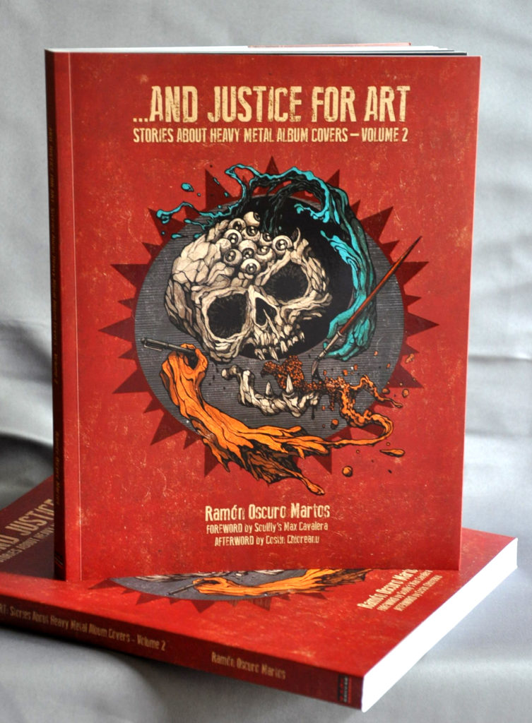 AND JUSTICE FOR ART: STORIES ABOUT HEAVY METAL ALBUM COVERS