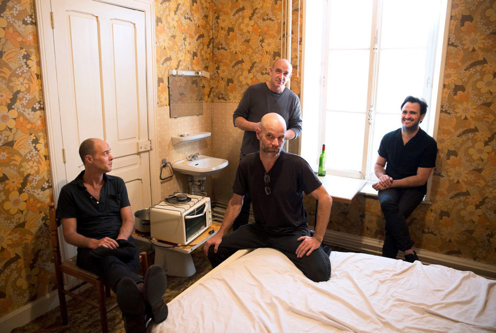 ENABLERS: Entire Zones LP Streaming At New Noise Magazine; LP Sees Release This Friday + European Tour Underway