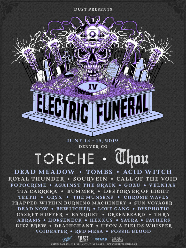 ELECTRIC FUNERAL FEST IV To Take Over Denver This Weekend; Set Times Confirmed + Tickets Still Available!