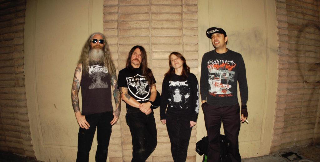 DEATHGRAVE: San Jose Deathgrind/Punk Unit Announces West Coast Summer Tour; So Real, It's Now Full-Length Out Now Via Tankcrimes