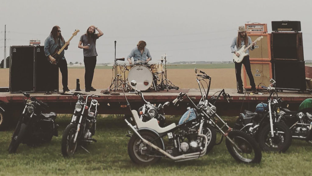 BISON MACHINE: Michigan Fuzz Rockers Debut New Track At Metal Insider As Seas Of Titan Full-Length Nears Release Via Small Stone