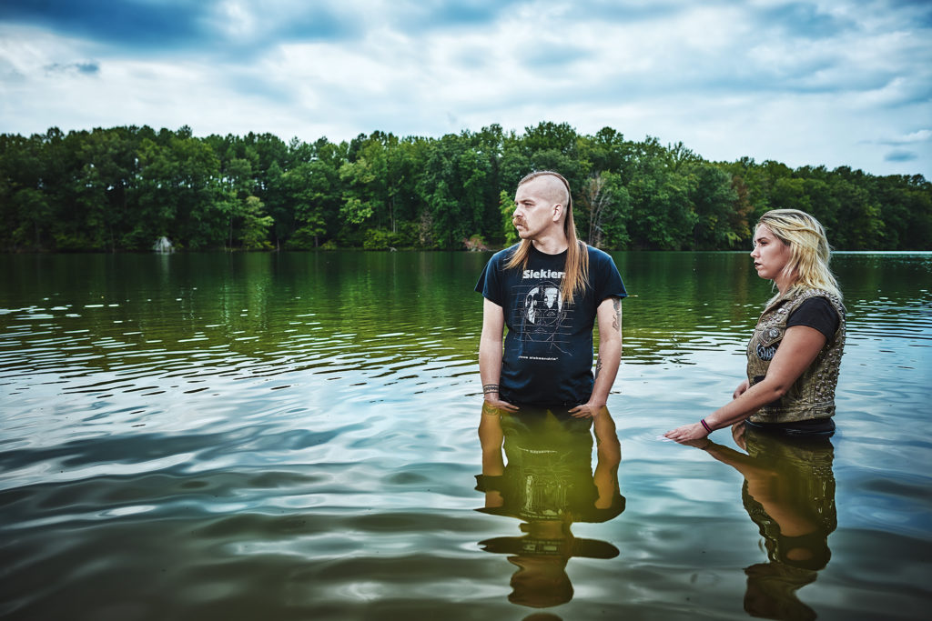 """CURSE: Baltimore Synthpunk Duo To Release Metamorphism LP Via Fake Crab Records Next Week; """"Universe 25"""" Streaming + Two-Month Tour Underway"""